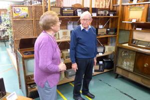 Besuch im Radiomuseum
