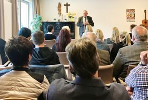 Staatssekretär Laumann erläuterte die aktuellen gesetzlichen Veränderungen